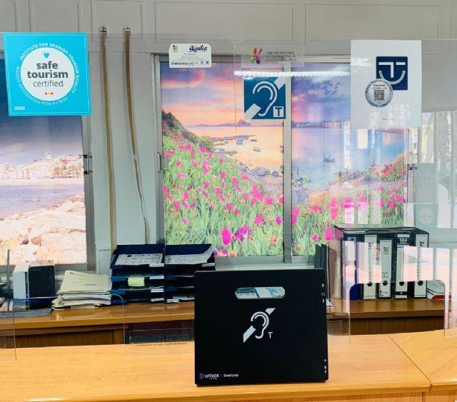 La Oficina de Turismo instala un sistema para personas con discapacidad auditiva - 1, Foto 1