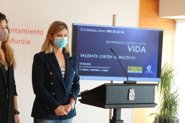 El Ayuntamiento de Murcia se suma a la campaña de sensibilización contra el maltrato a las personas mayores - 2, Foto 2