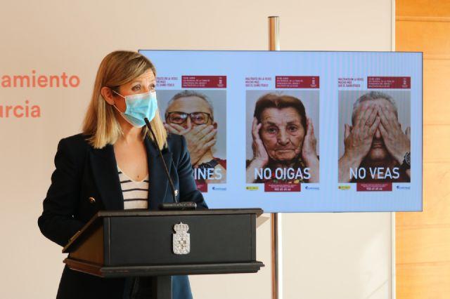 El Ayuntamiento de Murcia se suma a la campaña de sensibilización contra el maltrato a las personas mayores - 3, Foto 3