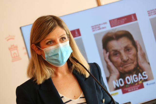 El Ayuntamiento de Murcia se suma a la campaña de sensibilización contra el maltrato a las personas mayores - 4, Foto 4