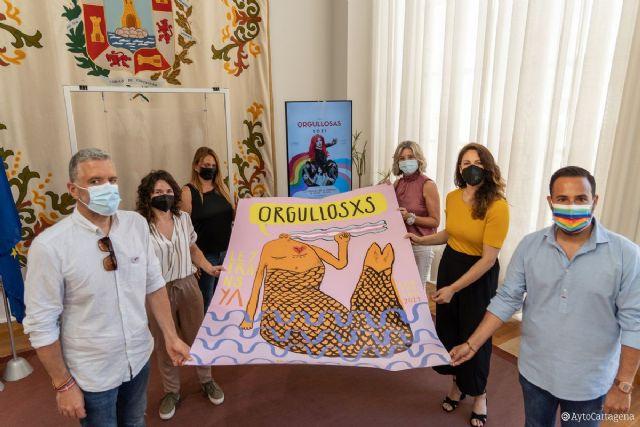 El Orgullo 2021 en Cartagena reivindicará la diversidad sexual y de género bajo el lema ´Orgullosxs´ - 1, Foto 1