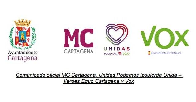 MC, Unidas Podemos y Vox rechazan el uso partidista del Salón de Pleno por parte de Noelia Arroyo - 1, Foto 1