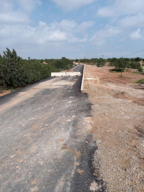 El secretario general del PSOE Cartagena Oeste denuncia la dejadez del Ayuntamiento en el arreglo de la carretera RM E18 - 3, Foto 3