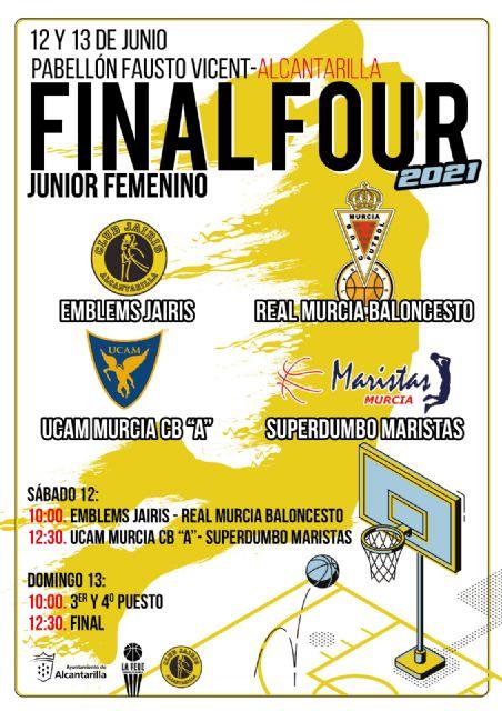Alcantarilla acoge este próximo fin de semana la Final Four de Baloncesto Junior Femenino - 1, Foto 1