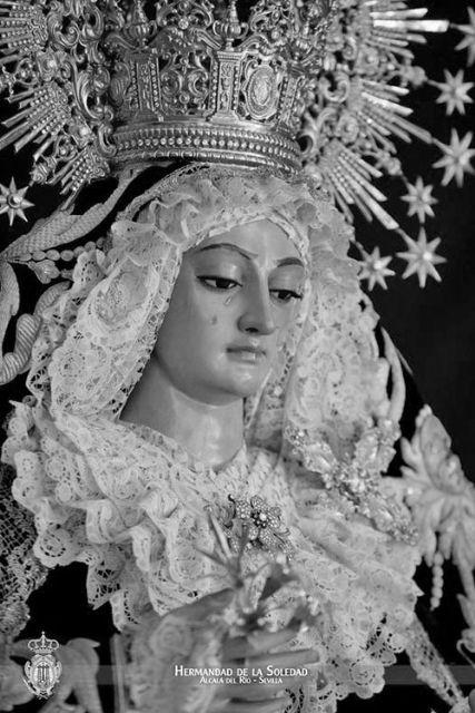 La Virgen de la Soledad saldrá a la Plaza del Calvario de Alcalá del Río para presidir la Función del XXV Aniversario de su coronación Canónica - 3, Foto 3
