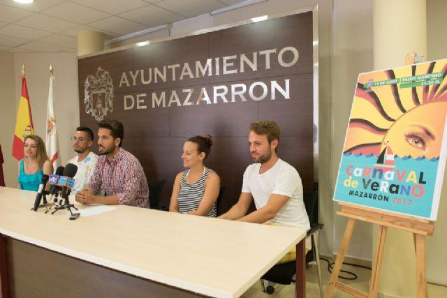 El Carnaval de Verano congregará el sábado a más de 650 participantes en el paseo marítimo de Puerto de Mazarrón - 2, Foto 2