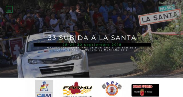 The official website of the 33rd Ascent to La Santa in progress - 1