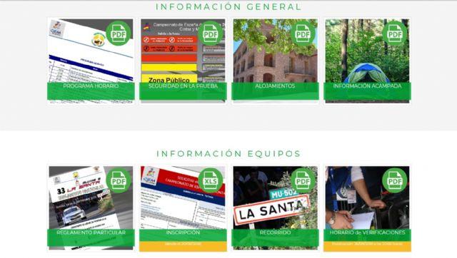 La web oficial de la 33° Subida a La Santa en marcha - 2, Foto 2