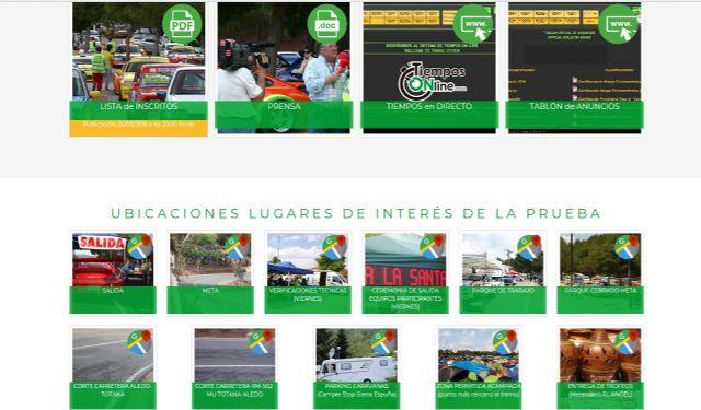 La web oficial de la 33° Subida a La Santa en marcha - 3, Foto 3