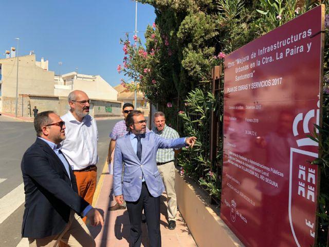La Comunidad financia con más de 72.000 euros la renovación de dos de las principales calles de Villanueva del Río Segura - 1, Foto 1