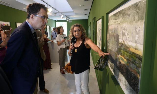 18 miradas recrean al natural la belleza del Huerto López-Ferrer, el último jardín hispanomusulmán de Murcia - 4, Foto 4