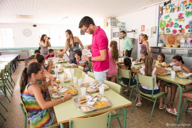 Educación ofrece servicio de comedor gratuito a más 250 niños este verano - 1, Foto 1