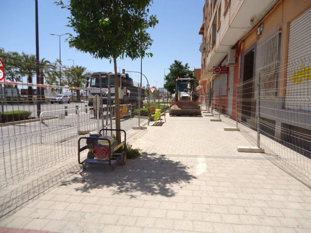 The works for the installation of a section of the sewerage network between Juan Carlos I avenue and Ramón y Cajal street begin - 2