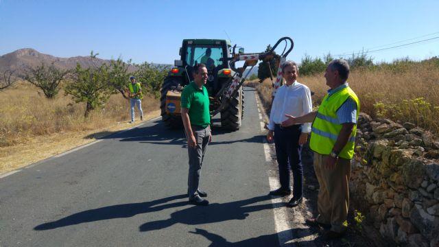 Mejora la visibilidad y el drenaje de la carretera regional que une las pedanías abanilleras de Cañada de la Leña y El Cantón - 1, Foto 1