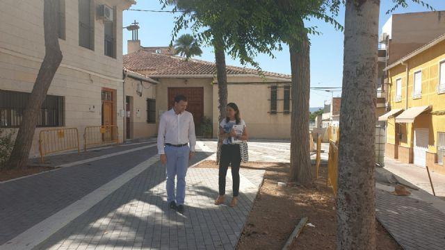 La plaza de la Iglesia de Santa Cruz en el Puntal será más accesible - 1, Foto 1