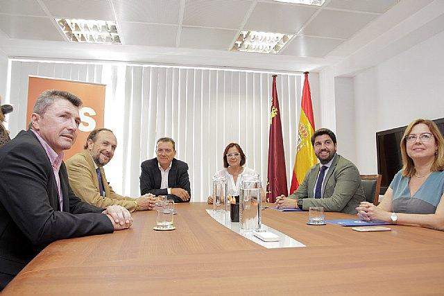 Ciudadanos lidera el desbloqueo de una investidura viable de Fernando López Miras en Murcia, Foto 2