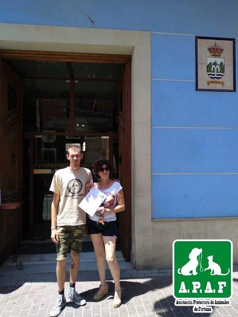 La Protectora de Fortuna da un ultimátum al Ayuntamiento para que cumpla con la Ley de protección y defensa de los animales de compañía de la Región de Murcia - 1, Foto 1
