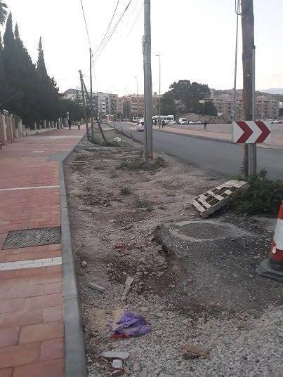 IU-Lorca  pide soluciones para el camino Marín cuyas obras llevan casi un año paralizadas - 1, Foto 1