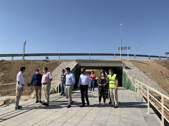 El  nuevo acceso peatonal entre Pozo Aledo y San Javier ya está operativo - 2, Foto 2