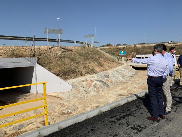 El  nuevo acceso peatonal entre Pozo Aledo y San Javier ya está operativo - 5, Foto 5