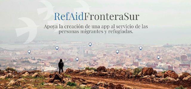 #RefAidFronteraSur, crowdfunding para una App al servicio de las personas migrantes y refugiadas en la Frontera Sur - 1, Foto 1