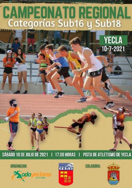 Yecla, penúltima cita para los atletas del Club Atletismo Alhama, Foto 1