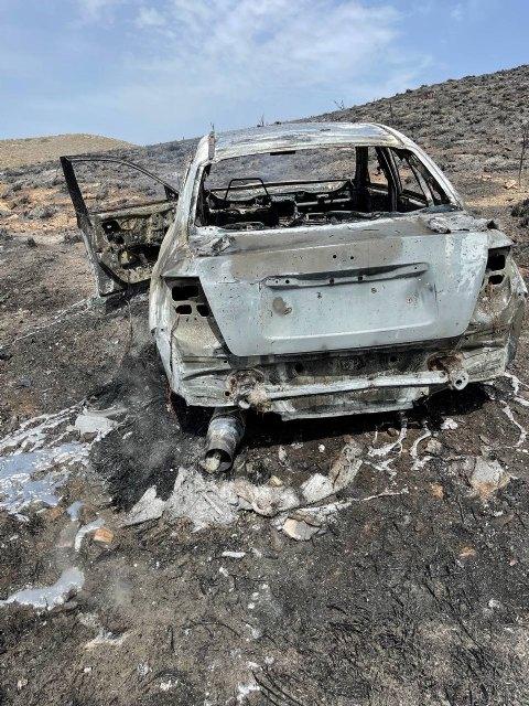 Efectivos adscritos al Plan Infomur acuden a extinguir incendio forestal en Mazarrón, Foto 2