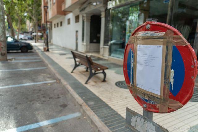 El Ayuntamiento repinta los aparcamientos de la ORA en el Ensanche - 1, Foto 1