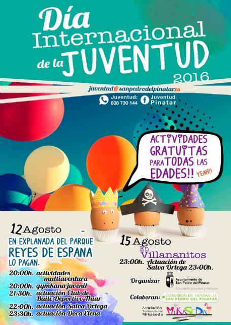 San Pedro del Pinatar celebra el día de la Juventud con diversas actividades - 1, Foto 1