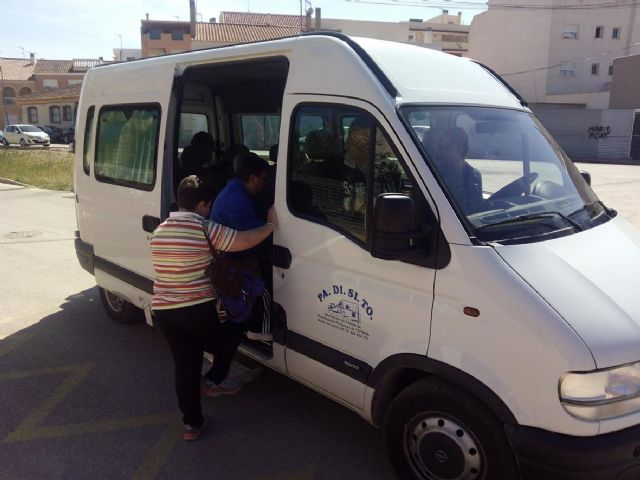 The City thanks PADISITO available to provide transportation service that has made users of the Day Care Centers of Persons with Disabilities
