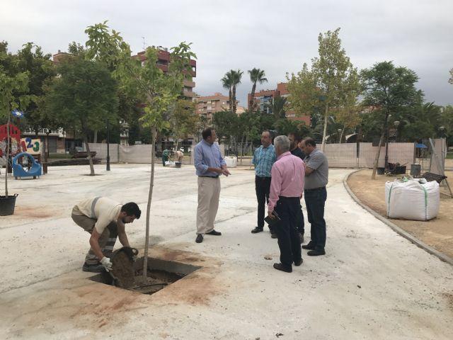 El Plan Especial de Verano ejecuta 100.000 actuaciones entre junio y septiembre en las zonas verdes de Murcia y pedanías - 1, Foto 1