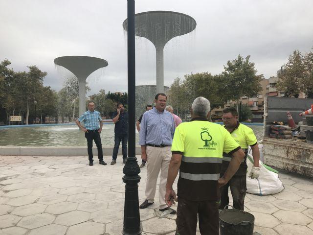 El Plan Especial de Verano ejecuta 100.000 actuaciones entre junio y septiembre en las zonas verdes de Murcia y pedanías - 3, Foto 3