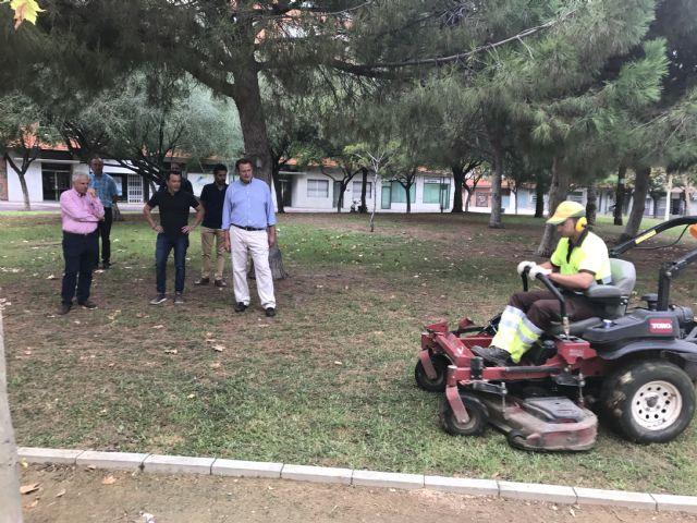 El Plan Especial de Verano ejecuta 100.000 actuaciones entre junio y septiembre en las zonas verdes de Murcia y pedanías - 4, Foto 4