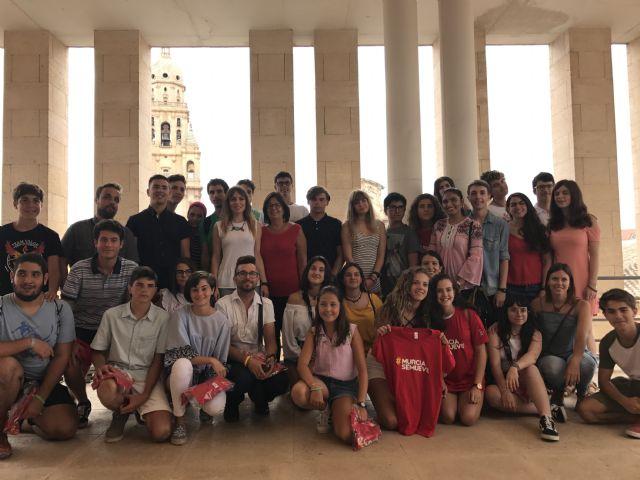 123 jóvenes murcianos recorren Europa este verano en programas de intercambio y voluntariado promovidos por el Ayuntamiento - 1, Foto 1