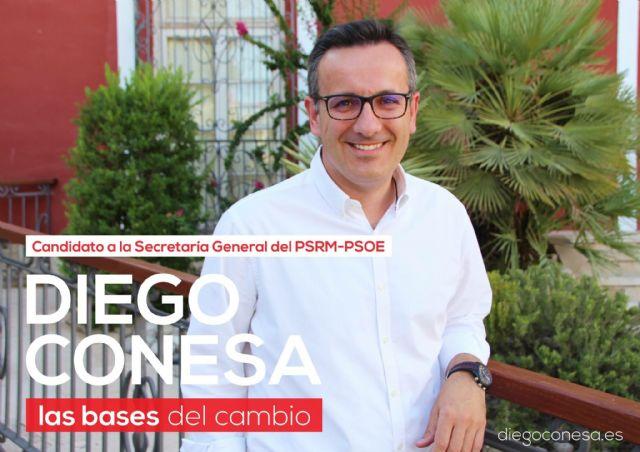 Miembros del PSOE de Totana constituyen una plataforma de apoyo a Diego Conesa, precandidato a la Secretaría General del PSRM-PSOE, Foto 1