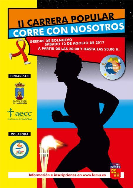 Más de 500 participantes tomarán la salida en la II carrera Corre con nosotros a beneficio de la AECC, Foto 2