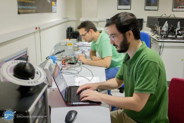 Investigadores de la UPCT entregan a la Agencia Espacial Europea los primeros modelos para el satélite Euclid - 1, Foto 1