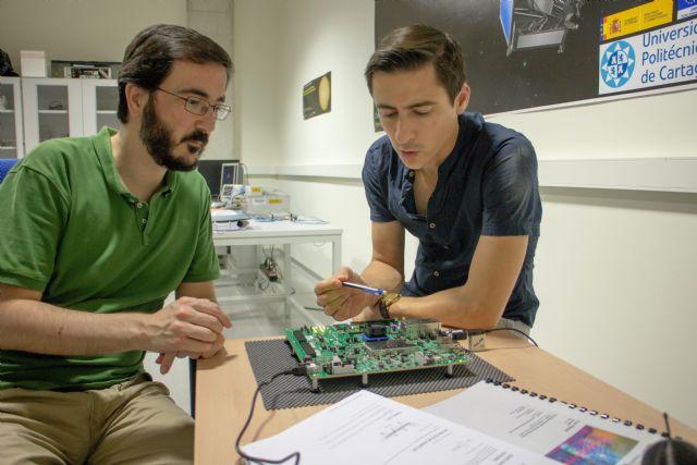 Investigadores de la UPCT entregan a la Agencia Espacial Europea los primeros modelos para el satélite Euclid - 2, Foto 2