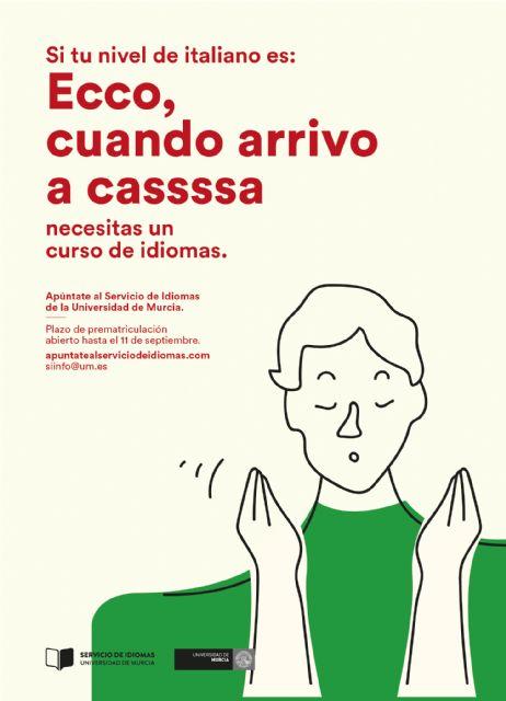 Las inscripciones en la nueva oferta de idiomas de la Universidad de Murcia continúan abiertas - 2, Foto 2