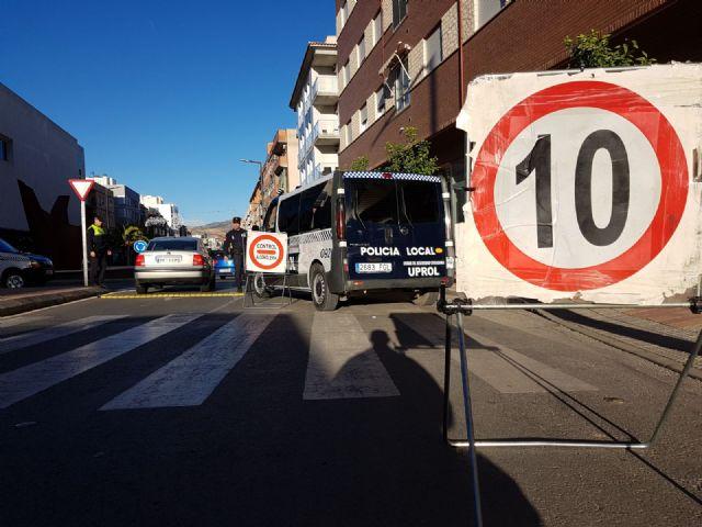 Intervenidas 1.800 prendas falsificadas con un valor de 60.000 euros gracias a un control puesto en marcha por la Unidad UPROL de la Policía Local de Lorca - 1, Foto 1
