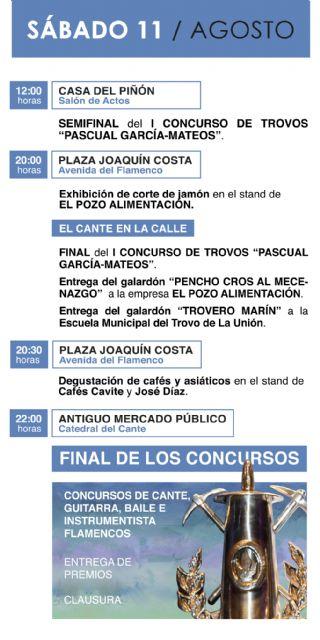 El día 11 llega con la gran final del Festival Internacional del Cante de las Minas - 1, Foto 1