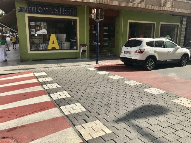El Ayuntamiento pone en marcha una actuación para mejorar la accesibilidad y transitabilidad en la zona comercial del centro de Águilas - 1, Foto 1