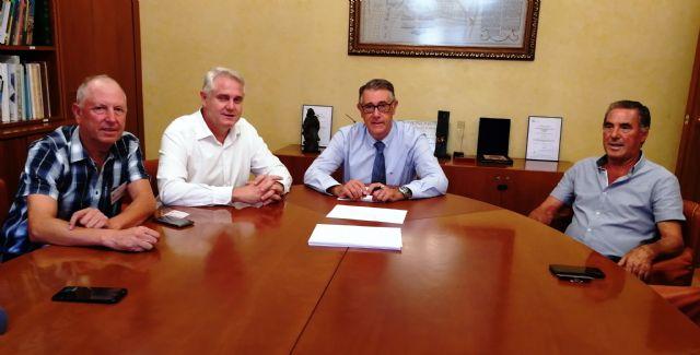 Los alcaldes de Campos del Río y Albudeite se reúnen con el presidente de la CHS, Foto 2