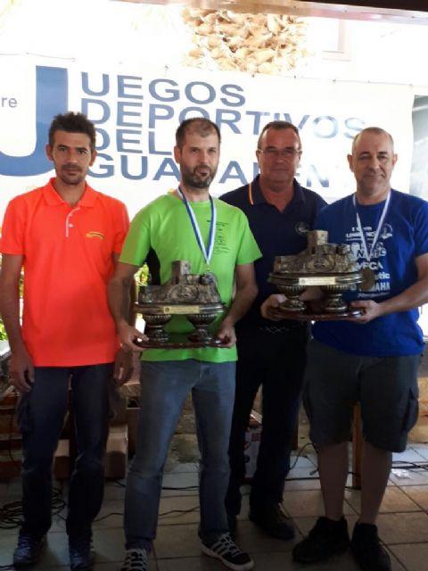 El Certamen Ciudad de Lorca de Pesca Deportiva reúne a 68 parejas en un vigésimo aniversario de récord - 1, Foto 1