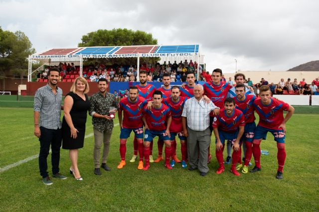 Reconocimiento al Mazarrón FC, Foto 1
