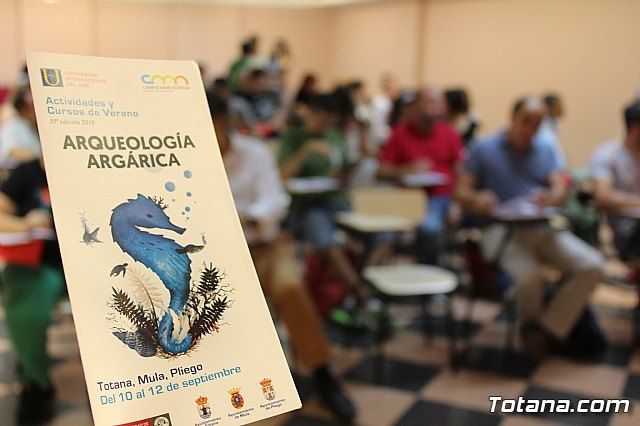 Inauguración curso sobre Arqueología Argárica, Foto 3
