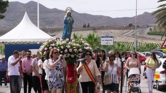 La Purísima bendijo a la Majada un año más, Foto 3