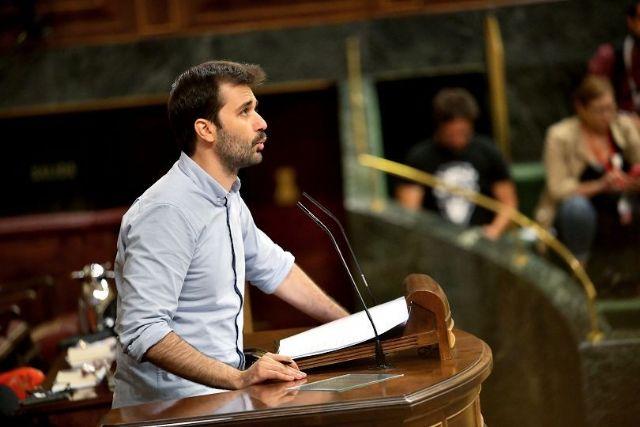 Javier Sánchez defiende en el Congreso la reforma del Estatuto de Autonomía, Foto 1