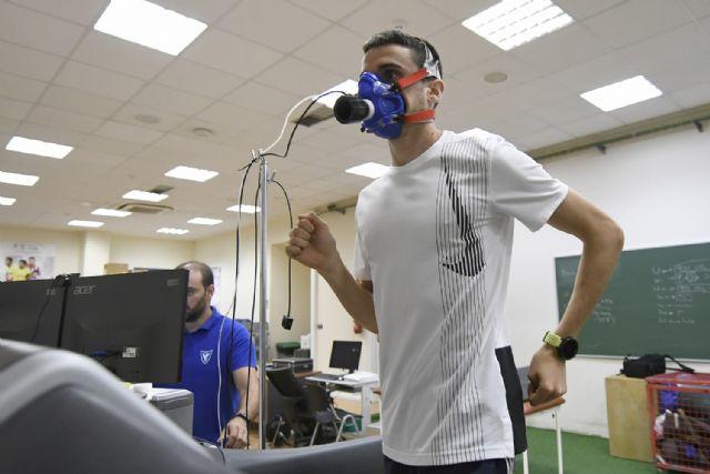 Mariano García afina la maquinaria en el CIARD UCAM, Foto 3