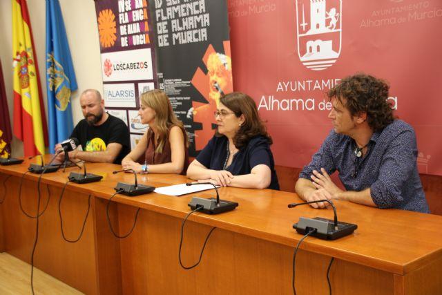 IV Semana Flamenca de Alhama de Murcia. Del 23 al 28 de septiembre, Foto 1